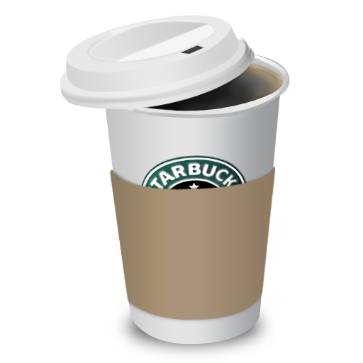 Starbucks coffee cup png. By benedik icon download