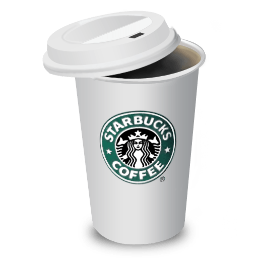 Starbucks cup png. Papercup transparent stickpng
