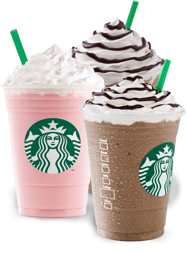 starbucks frappuccino png