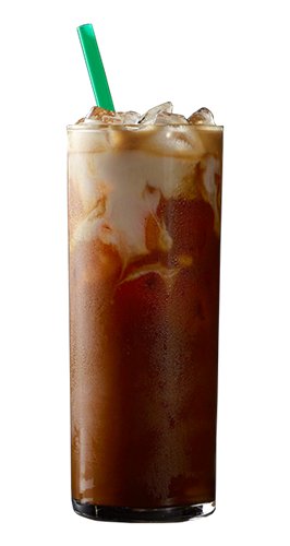 Starbucks iced coffee png. Cold fullbodied espresso thats