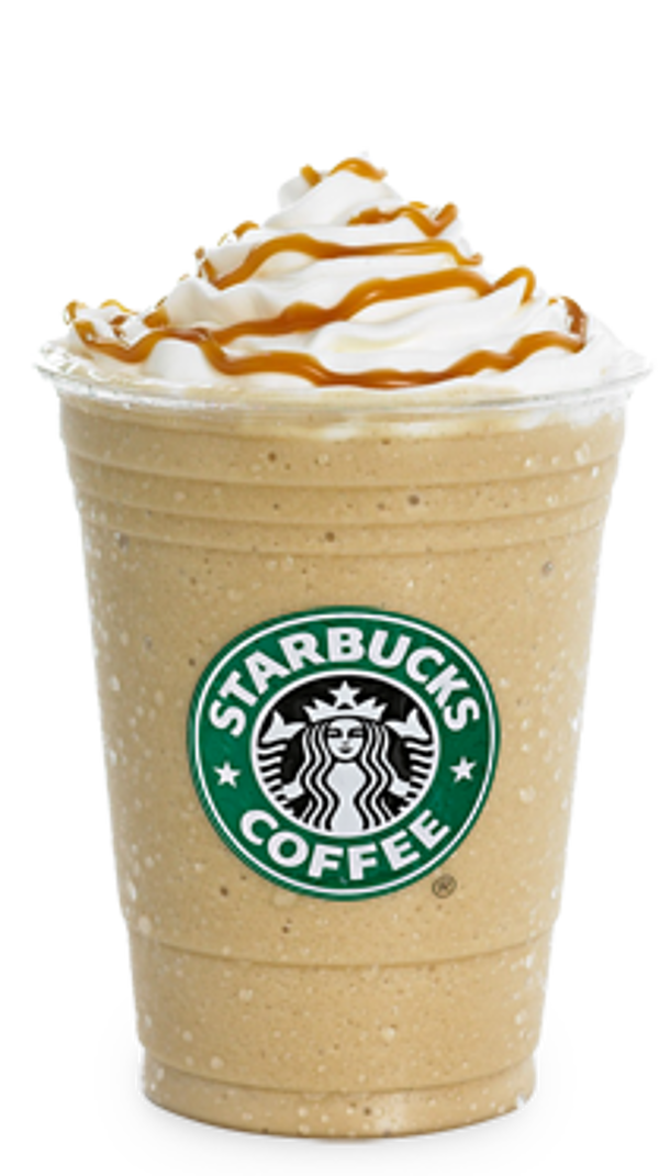 Starbucks iced coffee png. Frappuccino tenor transprent free