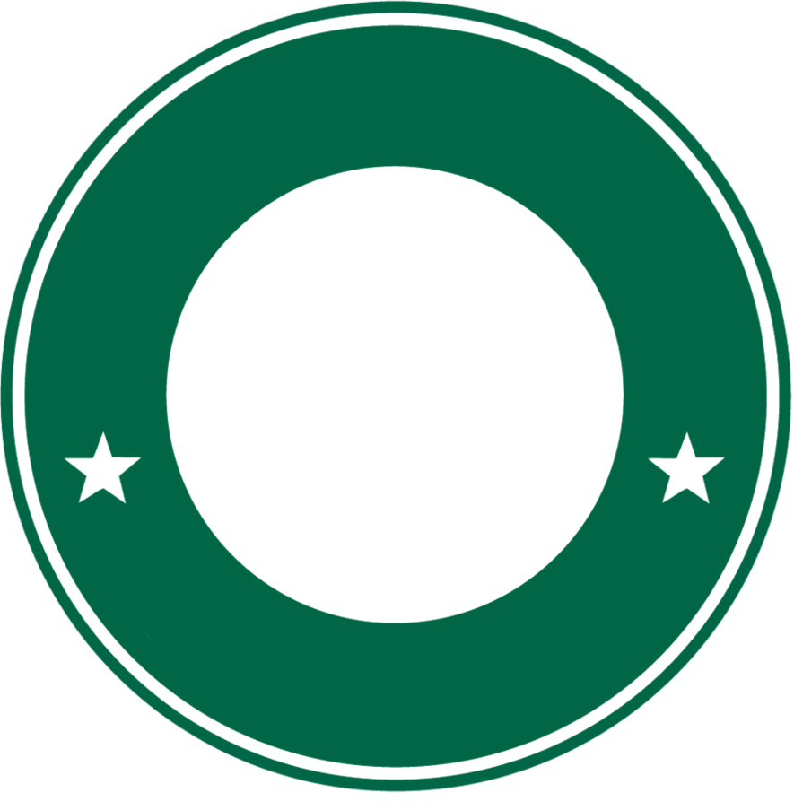Starbucks logo png transparent. Circulo de verde by