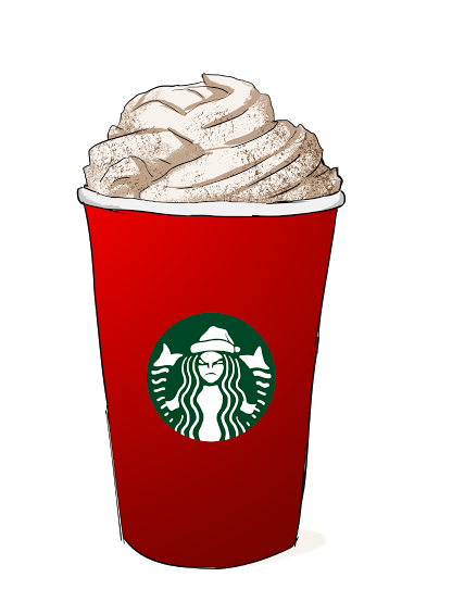 Starbucks tumblr png. Collection of red