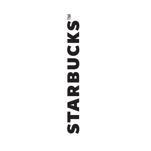 Starbucks vector. Wordmark logo in ai
