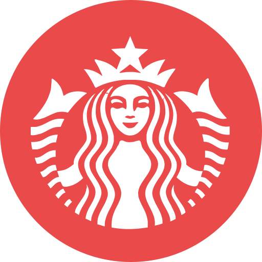 Icon png and for. Starbucks vector flyer banner