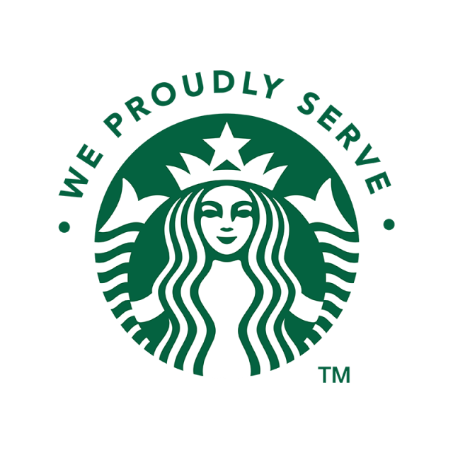 Starbucks vector icon. Coffee logo iphone phone