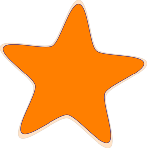 Starfish clipart star shaped object. Shape clip art library