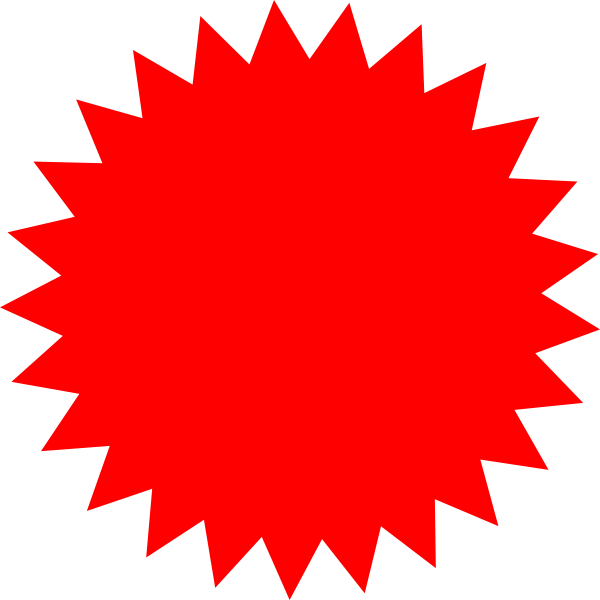 Starburst clipart png. Star clip art at