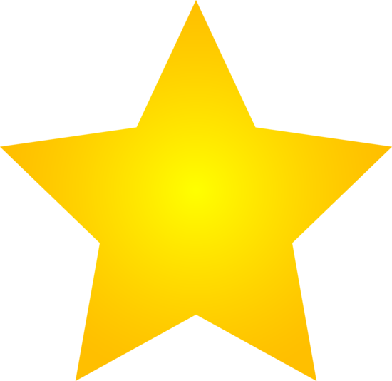 star clipart gold