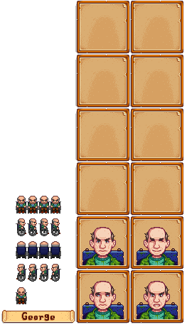 Stardew valley sprite png. Pc computer george the