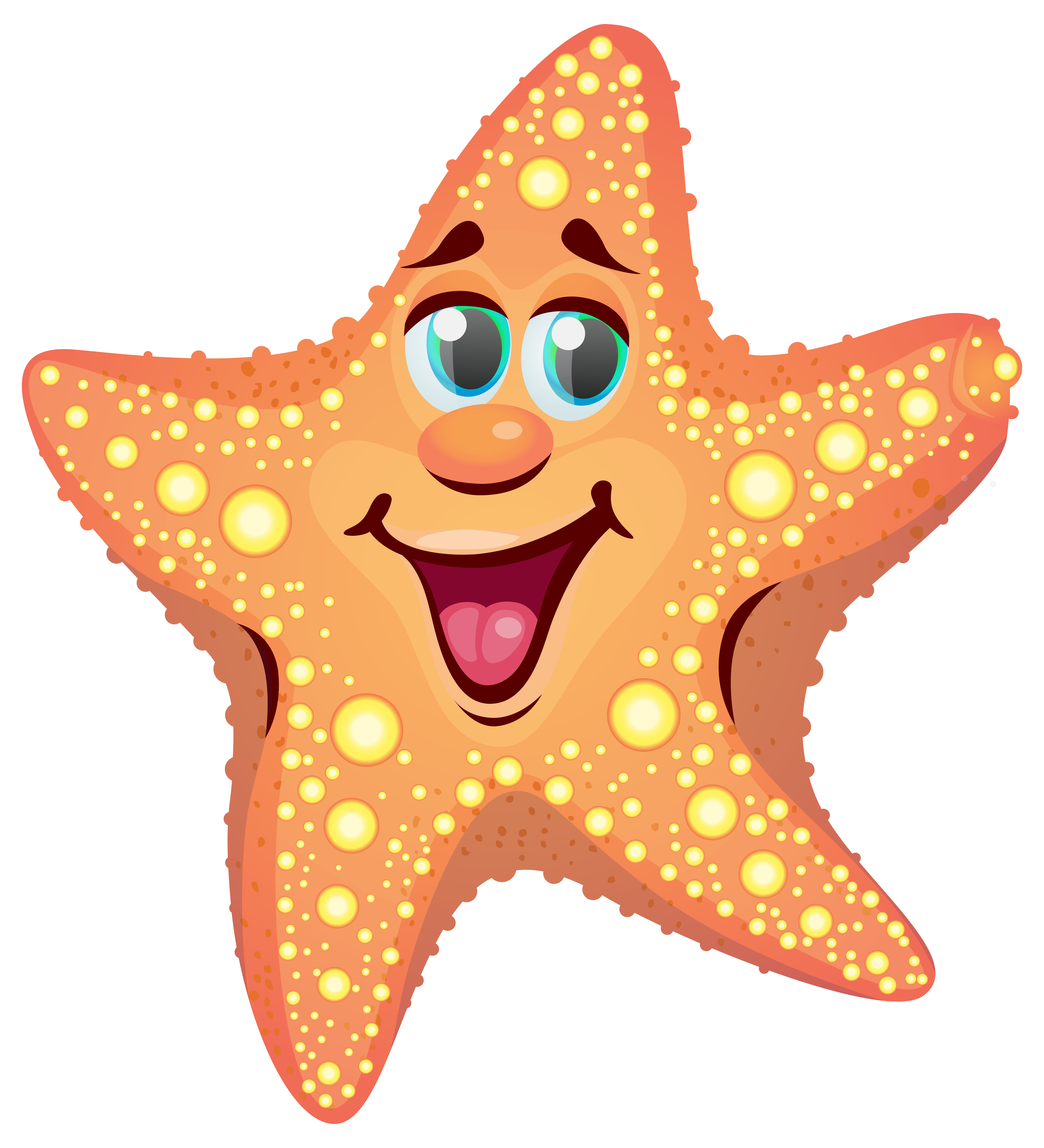 Cartoon png image gallery. 3 clipart starfish clip free stock
