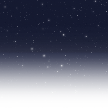 Glow vector. Starry sky png images