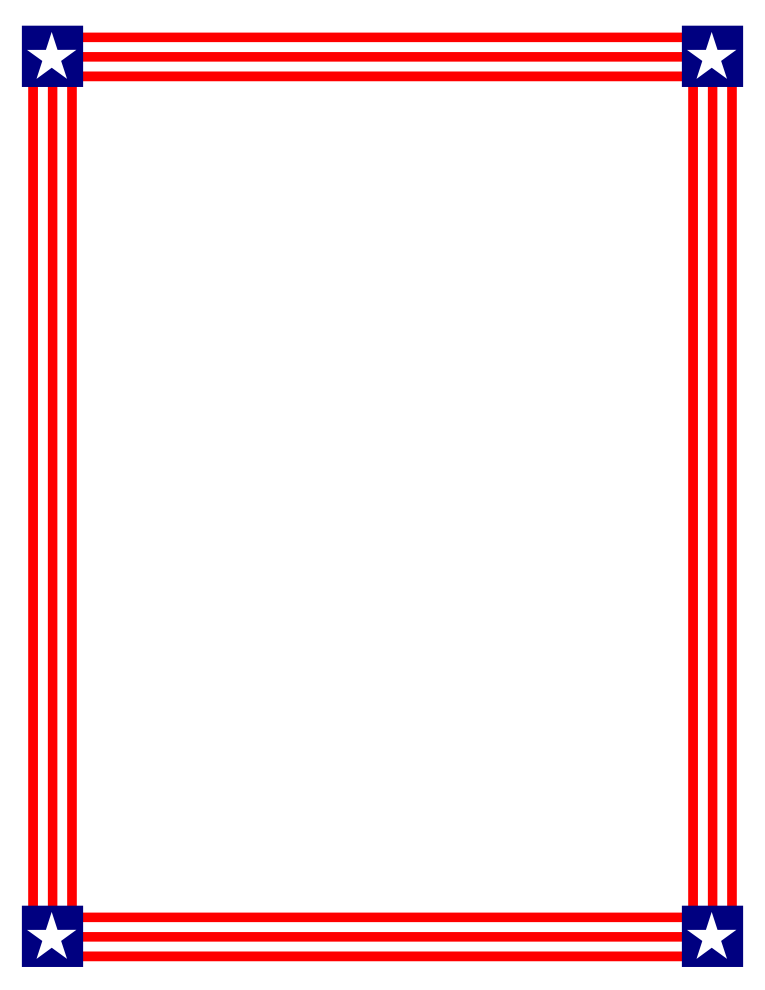 Stars and stripes border png. A snow white disney