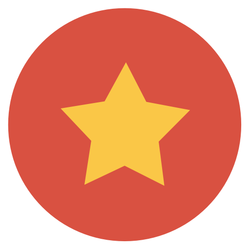 Stars circle png. Star icon flat christmas