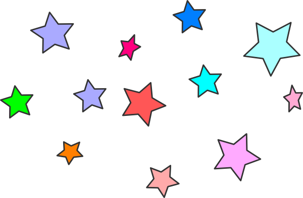Stars clipart png. Star cluster clip art
