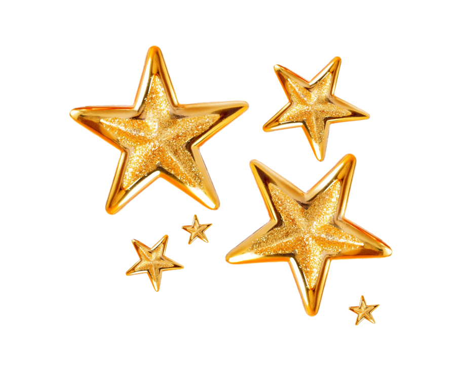 Gold glitter star png. Stars by melissa tm