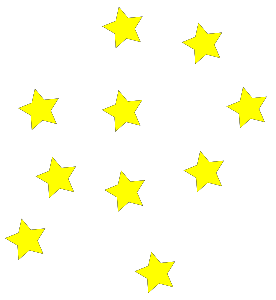 Yellow stars png. Clip art at clker