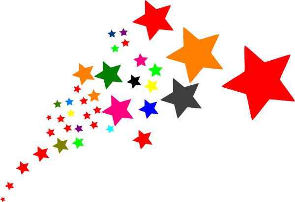 Start clipart colourful star. D at getdrawings