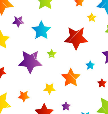 Start clipart colourful star. Colorful background panda free