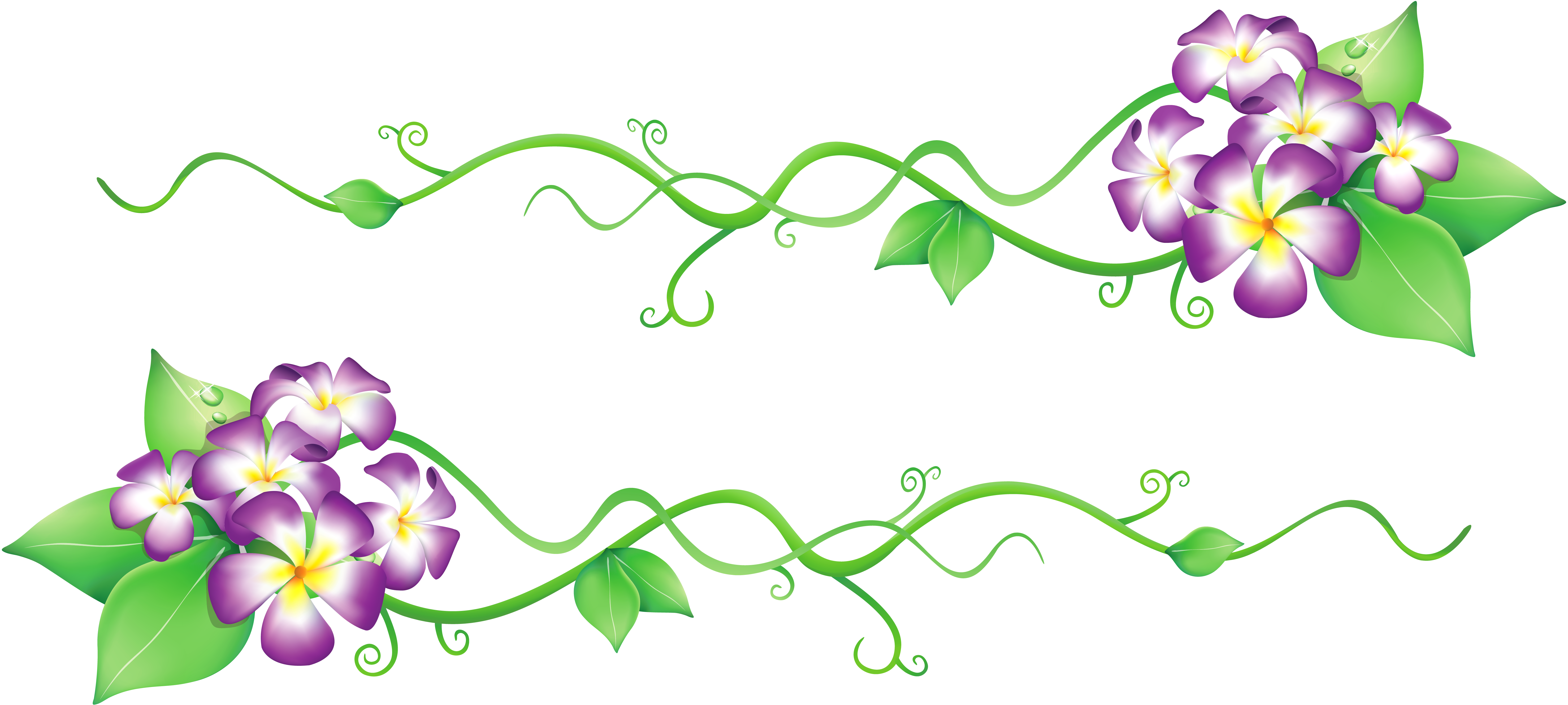 spring flowers clip art png