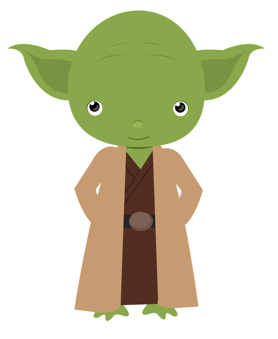Yoda outline png. Baby transparent images pluspng
