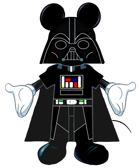 Star wars mickey mouse. Darth vader clipart clip art banner transparent library