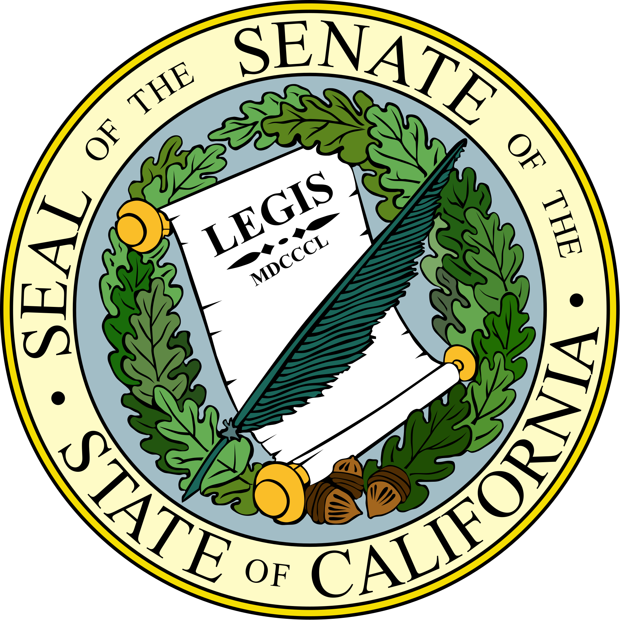 California svg state graphic. File seal of the