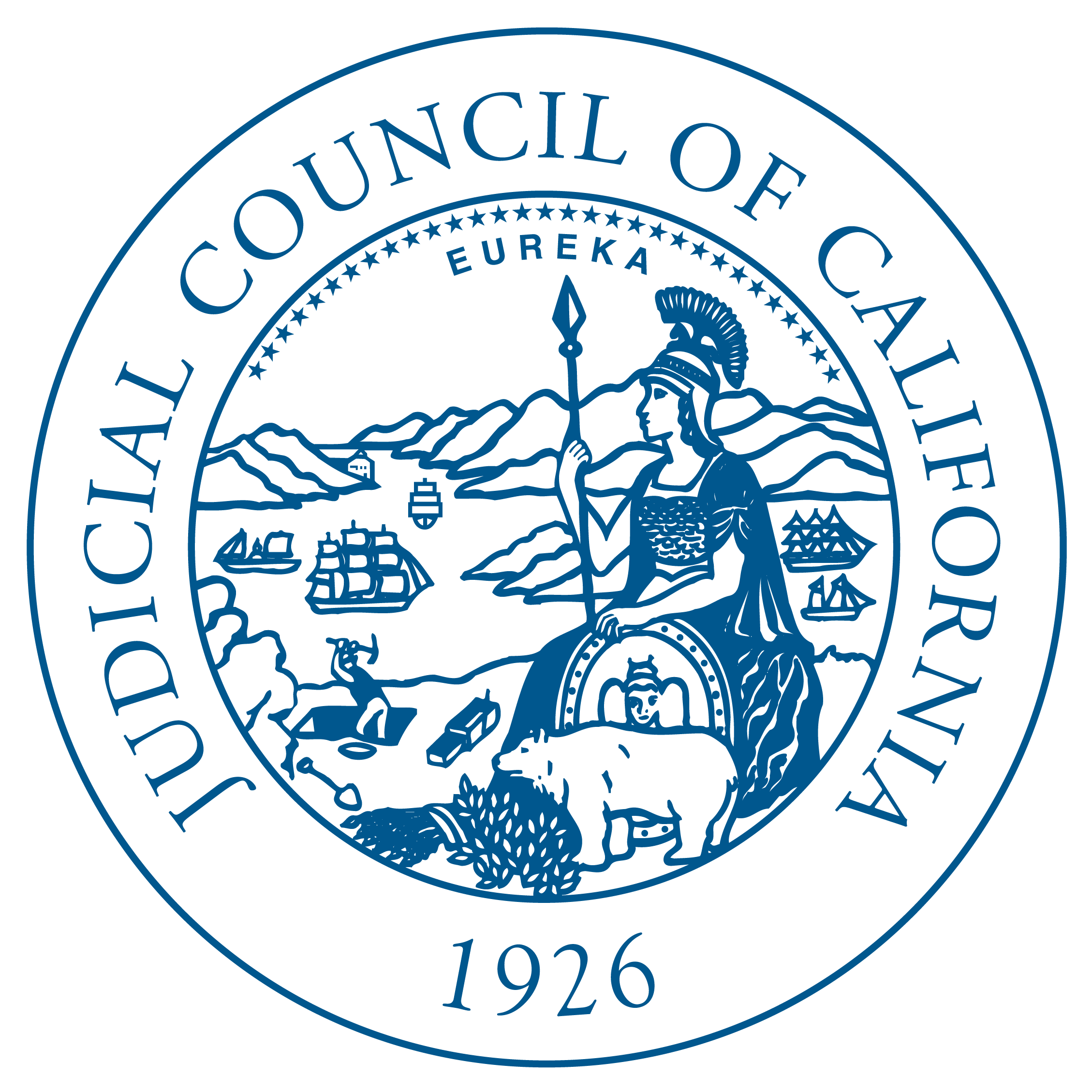Judicial council meeting california. Migration drawing court banner black and white download