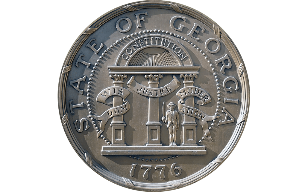State of georgia seal png image. Symbols gov adopted in