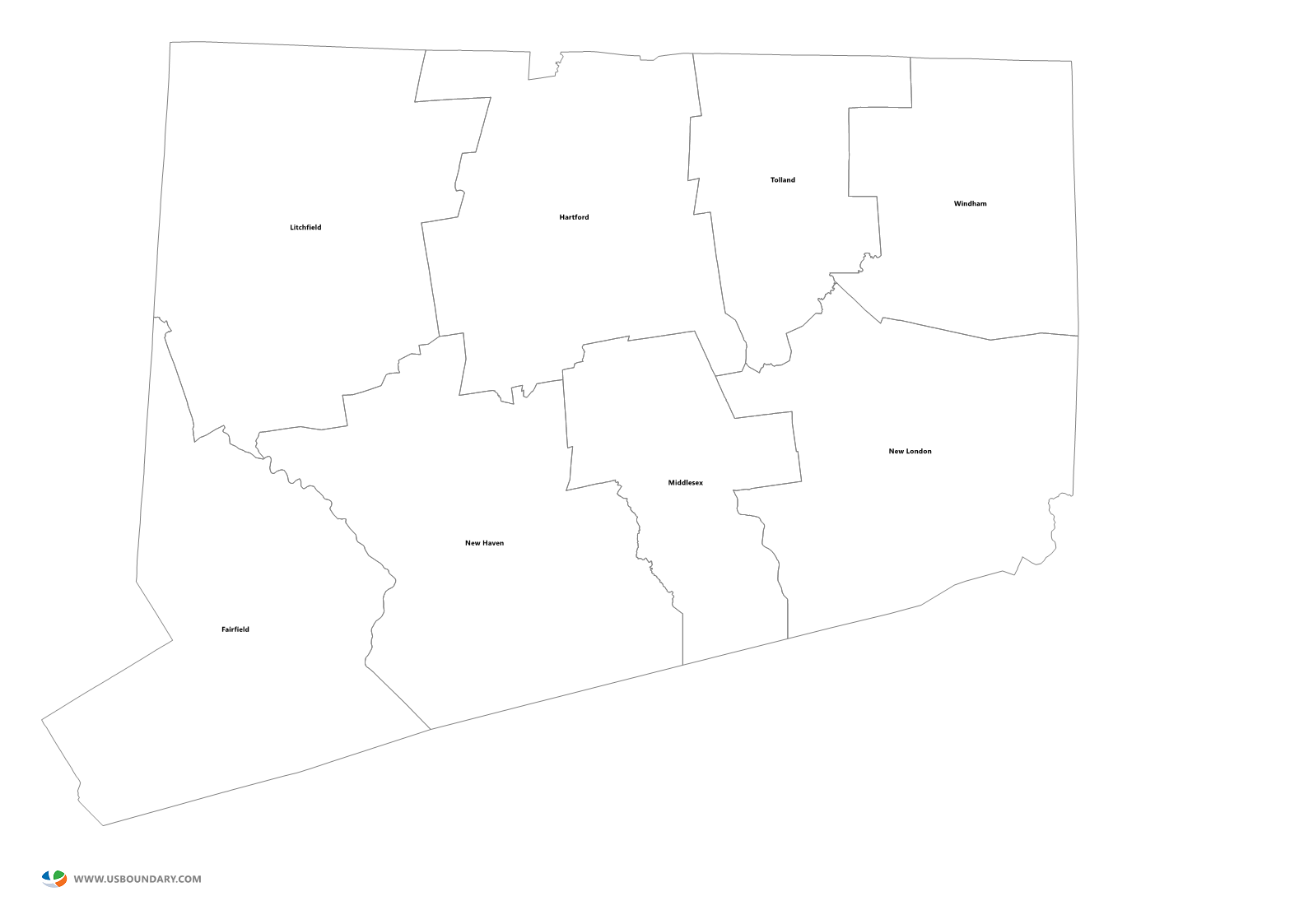 State of texas outline png. Counties maps download connecticut