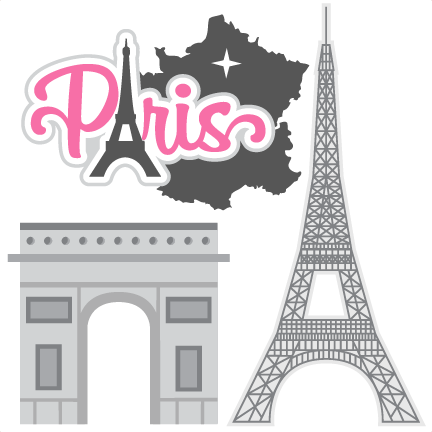 State svg cartridge cricut. Paris scrapbook cut file