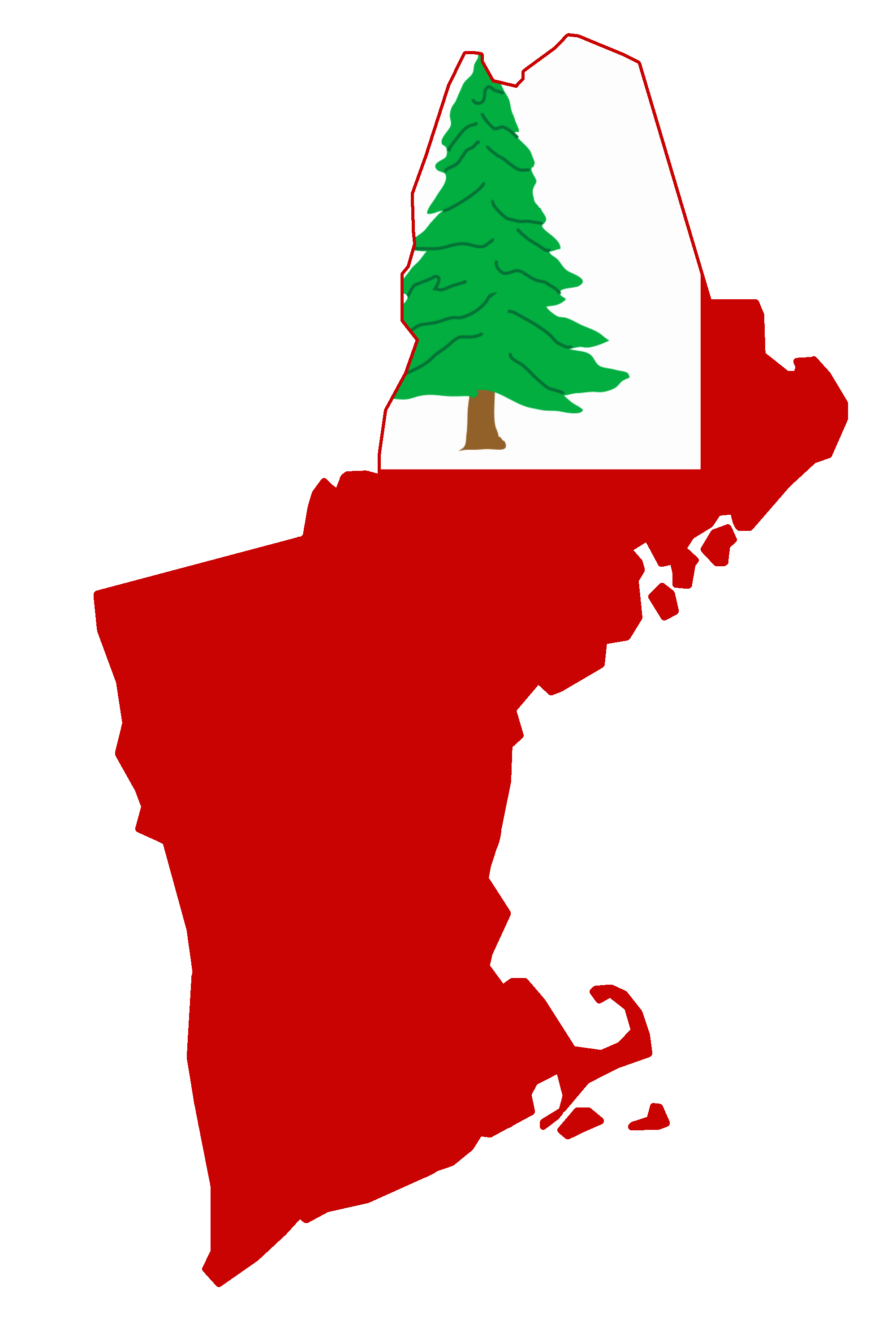 States vector new england. File flag map of