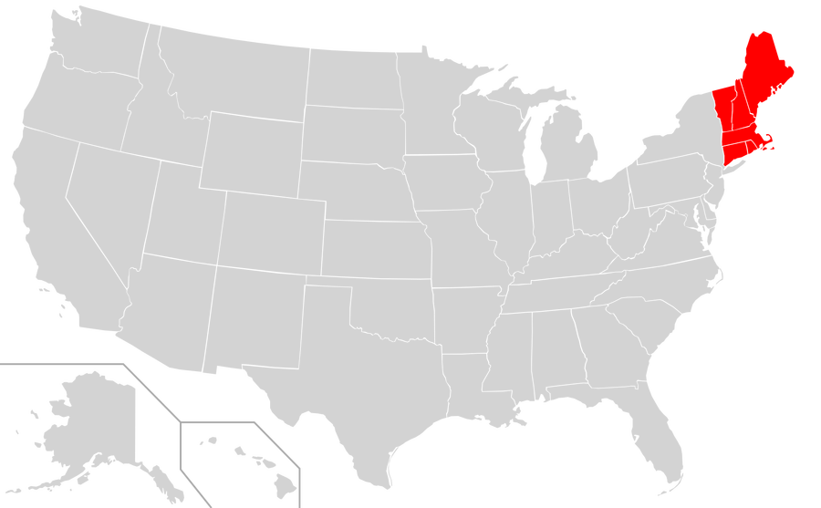 States vector new england. Map full hd maps
