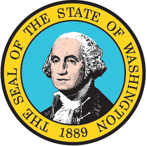 Washington vector state wa. Seal secretary of