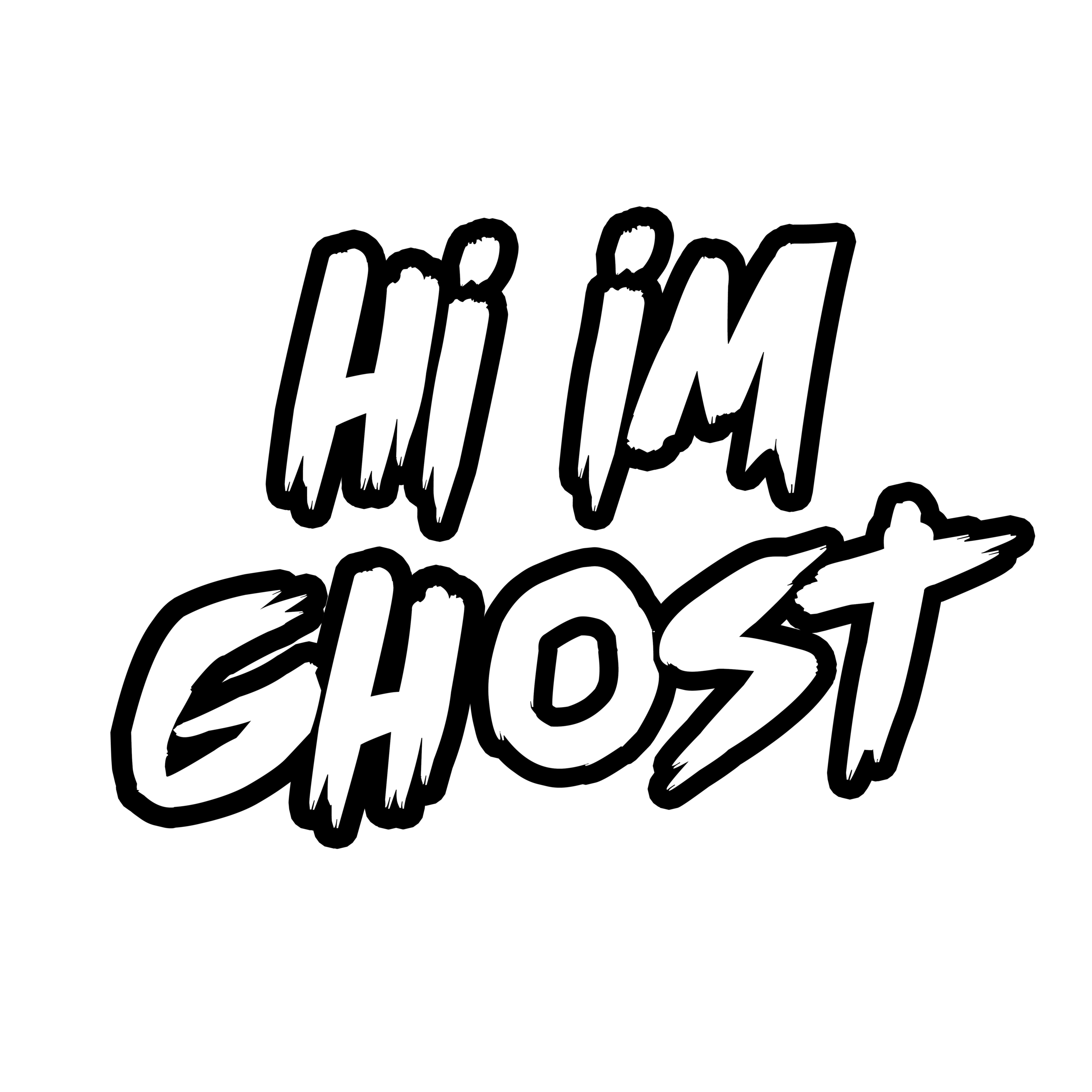 Static drawing ghost. Hi i m contact
