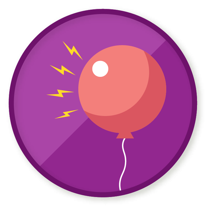 Static vector royalty free. Wittywe win a badge