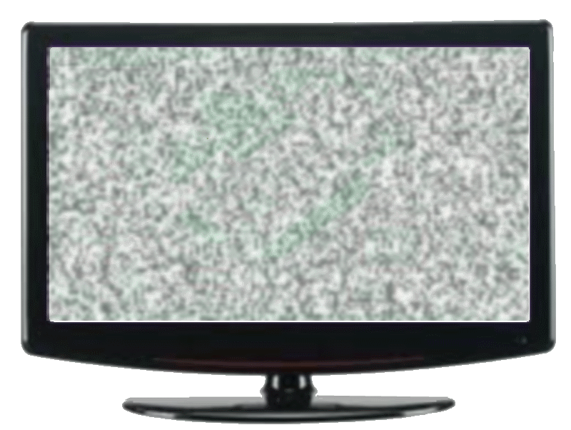 Static tv png. Digital cowboy and lcd
