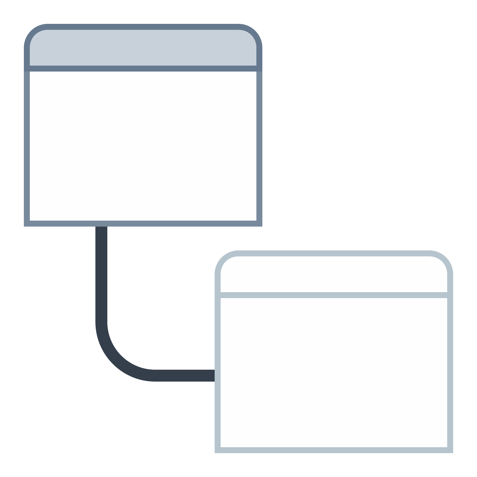 Static vector. View level icon free