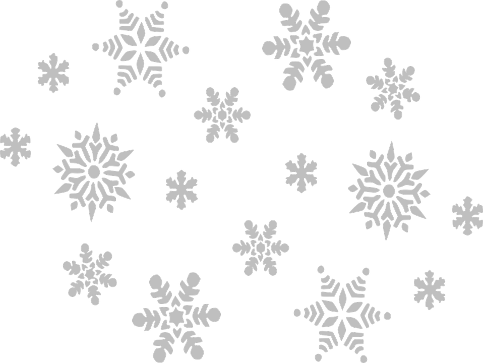 Snowflakes clipart falling. Oldies music radio accuradio