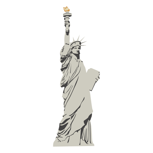 Statue cartoon png. Of liberty transparent svg