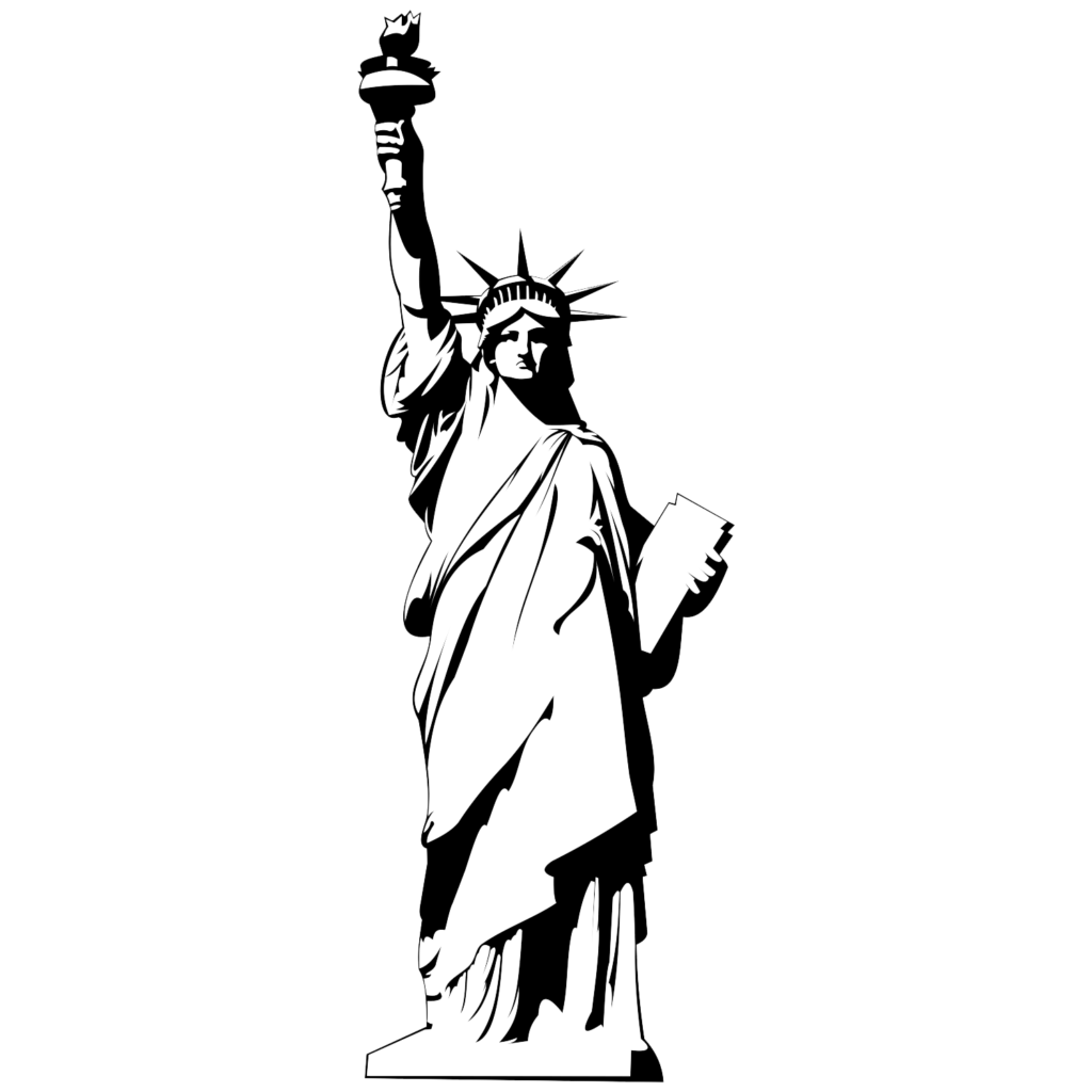 Statue vector. Free of liberty png