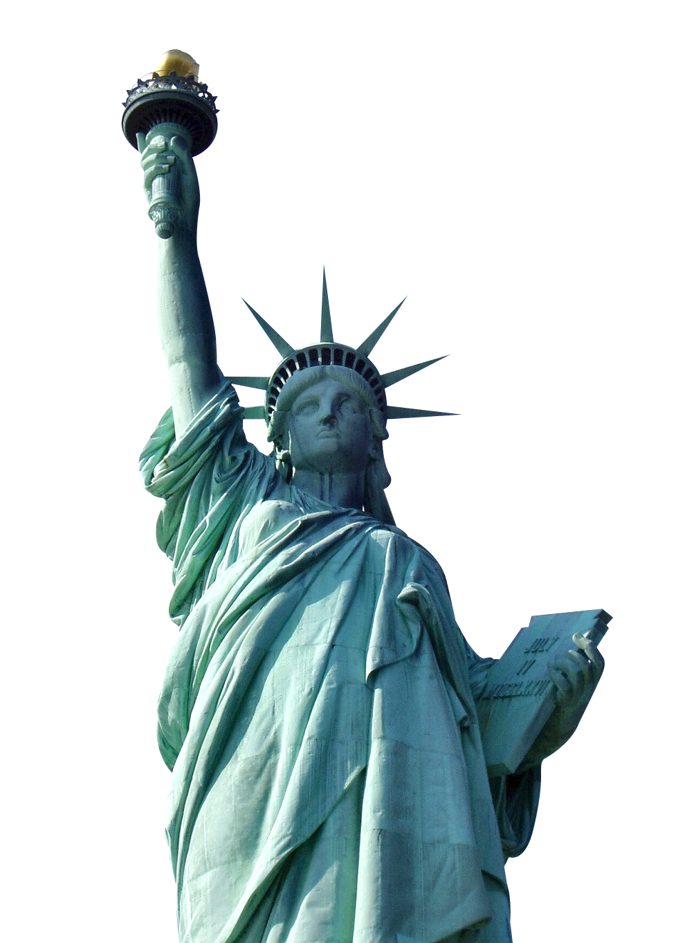 Statue looking up png. Of liberty image purepng