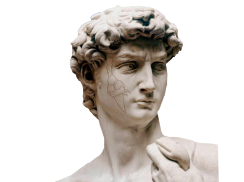 David statue png. Radric by michelangelo hiphopimages
