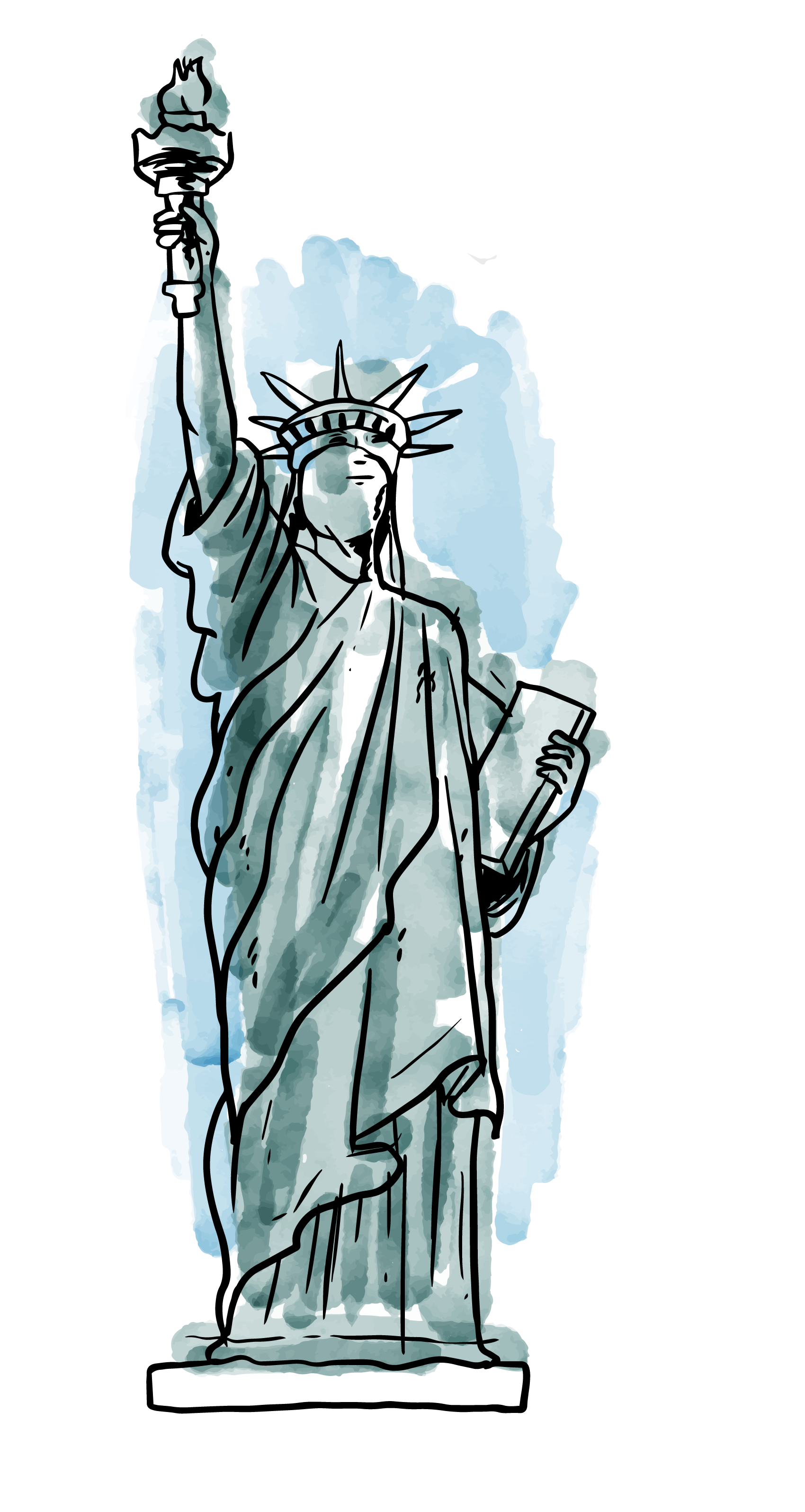 Statue of liberty apple png. Transprent free download art