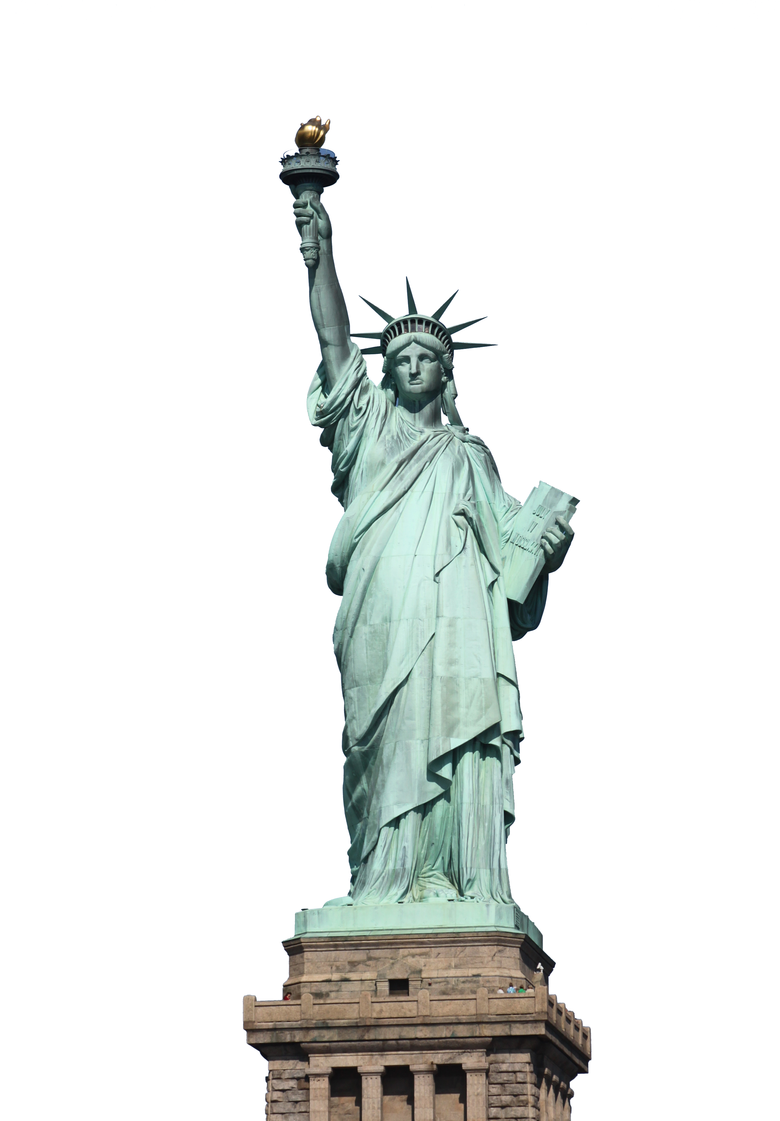 Statue of liberty apple png. Freedom monument usa transprent