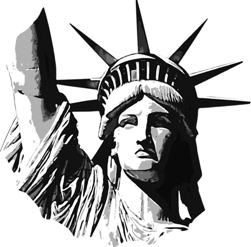 Liberty statue clipart png. Of free images toppng