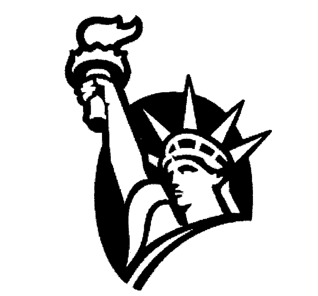 Statue of liberty clipart arm. Drawing outline at getdrawings