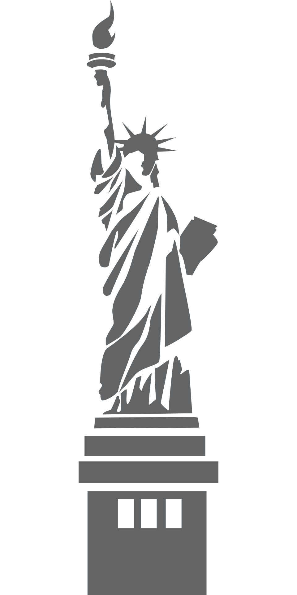 Victorian statue vector png. Free of liberty download