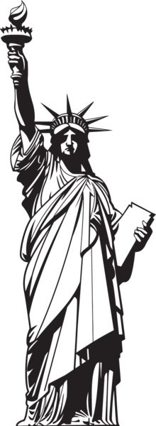 Statue of liberty clipart individual liberty. Best images on