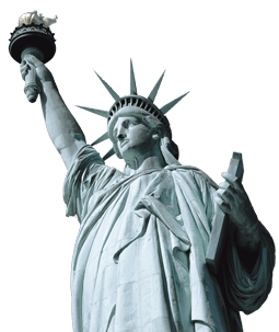 Statue of liberty clipart transparent tumblr. Close up png stickpng